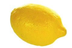 Limão no branco Fotos de Stock Royalty Free