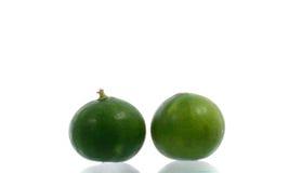 Limão orgânico fresco Fotografia de Stock