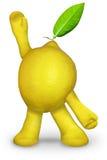 Limão que cumprimenta Fotografia de Stock