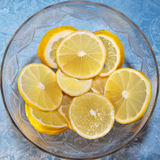 Limão suculento fotografia de stock