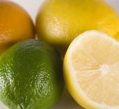 Limón Foto de archivo libre de regalías