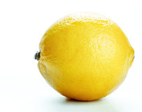Limón aislado Imagen de archivo libre de regalías