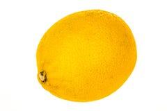 Limón aislado en el fondo blanco Imagen de archivo