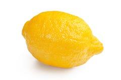 Limón aislado en el fondo blanco Imágenes de archivo libres de regalías