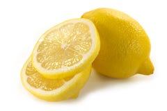 Limón amarillo Imágenes de archivo libres de regalías