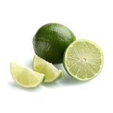 Limón con el medio limón Foto de archivo libre de regalías