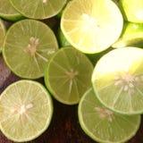 limón de la rebanada Imagen de archivo