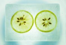 Limón del hielo Fotos de archivo