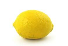 Limón en blanco Fotografía de archivo libre de regalías