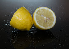 Limón jugoso Imagen de archivo libre de regalías