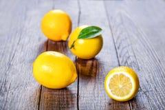 Limón, la mejor vitamina natural Imagen de archivo