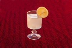Limón natural del jugo aislado foto de archivo