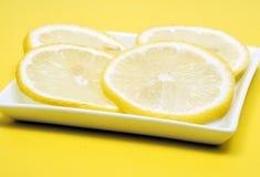 Limón rebanado Imagen de archivo