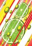 Limón slice2 Foto de archivo