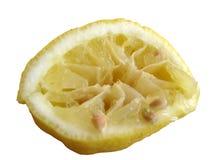 Limón usado Foto de archivo libre de regalías