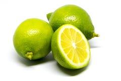 Limón verde foto de archivo libre de regalías