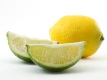 Limón y cal imagen de archivo libre de regalías