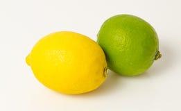 Limón y cal imágenes de archivo libres de regalías