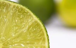 Limón y cales Imagen de archivo