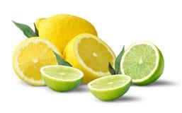 Limões & cais Imagem de Stock