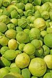 Limões e cais Imagem de Stock Royalty Free