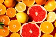 Limões e cal Fotografia de Stock