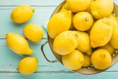 Limões frescos Fotos de Stock