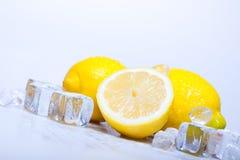 Limões gelados Imagens de Stock Royalty Free