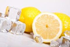 Limões gelados Foto de Stock Royalty Free