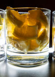 Limões para as bebidas Backlit Imagem de Stock