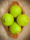 Limões Unripe imagem de stock royalty free
