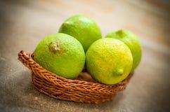 Limões Unripe foto de stock royalty free