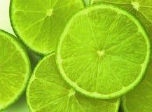 Limões verdes Imagens de Stock Royalty Free