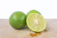 Limões verdes Fotos de Stock