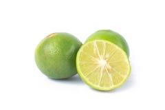 Limões verdes Fotografia de Stock