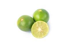 Limões verdes Imagem de Stock Royalty Free