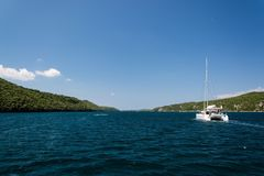 Lim-Bay, Istria, Croatia. The Lim bay and valley is a peculiar geographic feature on the western coast of Istria, Croatia stock photos