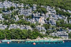 Lim-Bay, Istria, Croatia. The Lim bay and valley is a peculiar geographic feature on the western coast of Istria, Croatia royalty free stock photos