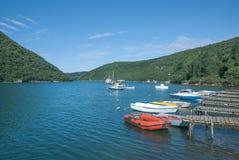Lim Fjord, Istria, Kroatien Lizenzfreies Stockbild