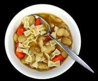 Lima bean soup Stock Photography