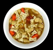 Lima bean soup Royalty Free Stock Images