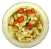 Lima bean soup Stock Image