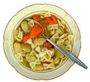 Lima bean soup Stock Images