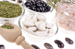 Lima beans Stock Photography