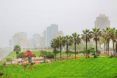 Lima, Capital of Peru. Miraflores Neighbourhood, Lima, Peru, South America stock photos