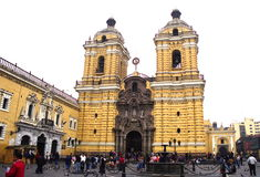 Lima cathedral Stock Image