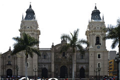 Lima cathedral, Perú. Royalty Free Stock Photos