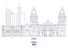 Lima City Skyline, Peru Stock Image