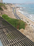 Lima Coast View Royalty Free Stock Images