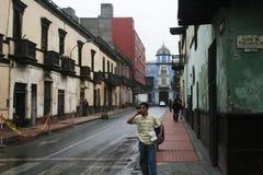 Lima colonial Fotografia de Stock